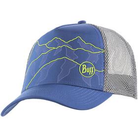 Buff Trucker Tech Cap solid blue